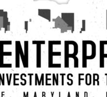 The Wire - B&B Enterprises - White Sticker