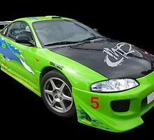 Mitsubishi Eclipse by Vicki Spindler (VHS Photography)