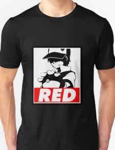 Red Obey T-Shirt