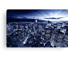 Blue York Canvas Print