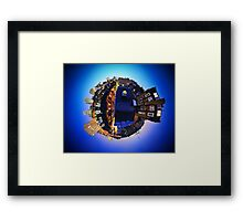 My Home Planet Framed Print