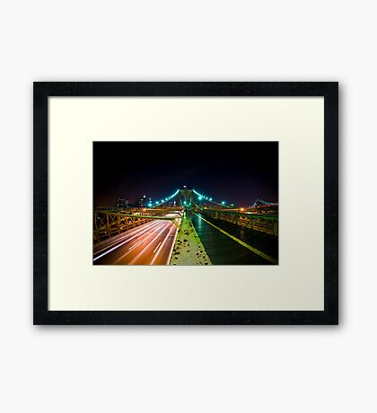 Road to America Framed Print