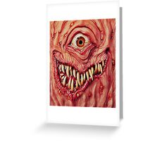 Cyclops Greeting Card