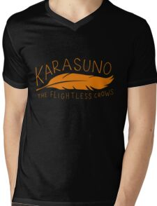 Karasuno - The Flightless Crows Mens V-Neck T-Shirt