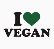I love Vegan by Designzz