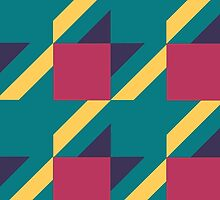 Colored Houndstooth. by Alecs12