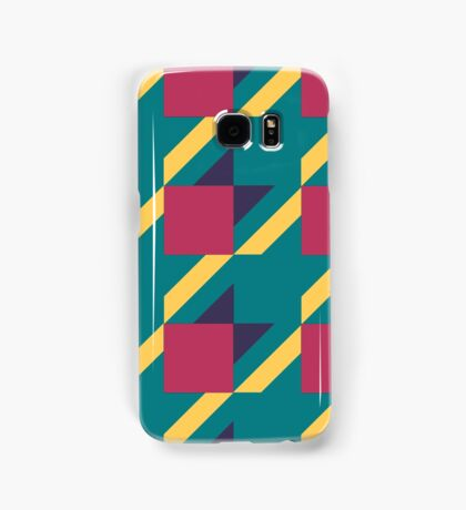 Colored Houndstooth. Samsung Galaxy Case/Skin