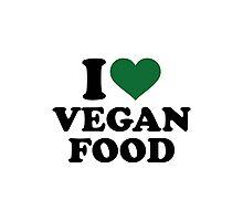 I love vegan food Photographic Print