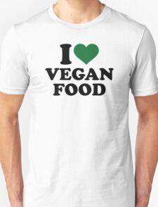I love vegan food T-Shirt