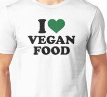 I love vegan food Unisex T-Shirt