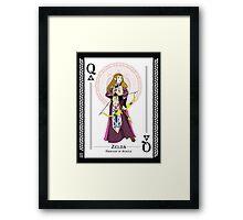 Zelda - Hylian Court Legend of Zelda Framed Print
