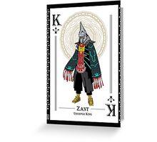 Zant - Hylian Court Legend of Zelda Greeting Card