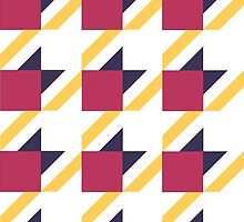 colored pattern houndstooth by Alecs12