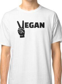 Vegan peace Classic T-Shirt