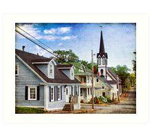 Lunenburg, Nova Scotia Art Print