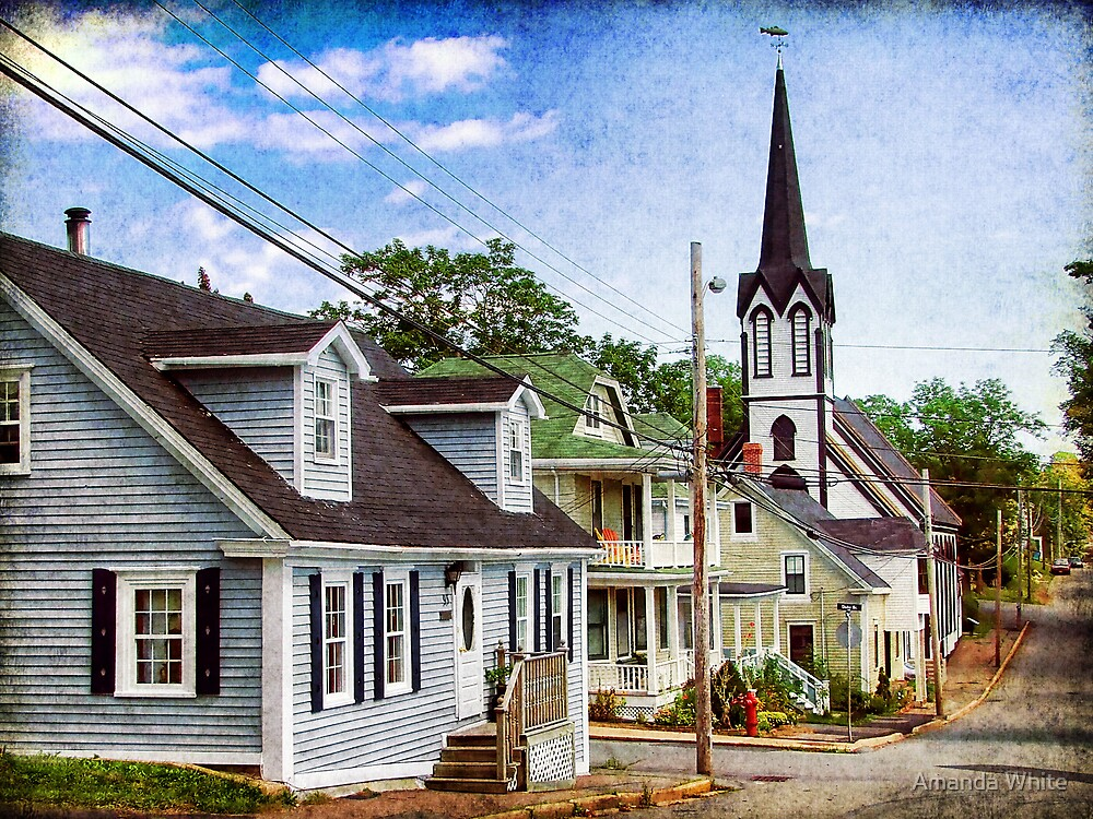 Lunenburg, Nova Scotia by Amanda White
