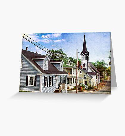 Lunenburg, Nova Scotia Greeting Card