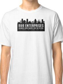 The Wire - B&B Enterprises - Black Classic T-Shirt