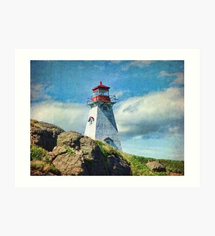 Boar's Head Lighthouse, Nova Scotia Art Print