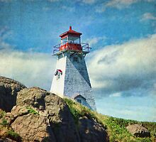 Boar's Head Lighthouse, Nova Scotia by Amanda White