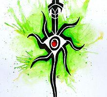 Dragon Age Inquisition - Inquisitor Symbol by quigalchemist