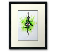 Dragon Age Inquisition - Inquisitor Symbol Framed Print