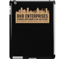The Wire - B&B Enterprises - Brown iPad Case/Skin