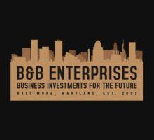The Wire - B&B Enterprises - Brown by garudoh