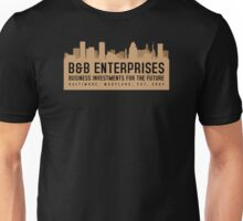 The Wire - B&B Enterprises - Brown Unisex T-Shirt