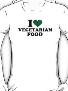 I love vegetarian food T-Shirt