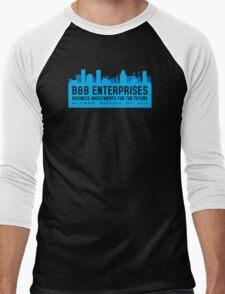 The Wire - B&B Enterprises - Blue Men's Baseball ¾ T-Shirt