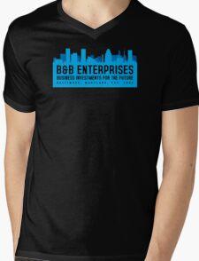 The Wire - B&B Enterprises - Blue Mens V-Neck T-Shirt
