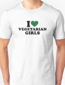 I love vegetarian girls T-Shirt