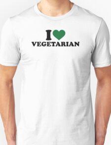I love vegetarian T-Shirt