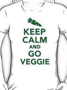 Keep calm and go veggie T-Shirt