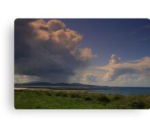 Clouds Over  Barra Canvas Print