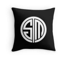 Team Solomid LOL Logo White Throw Pillow