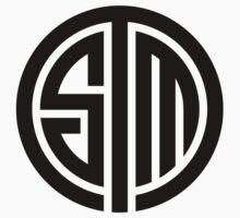 Team Solomid LOL Logo BLack One Piece - Short Sleeve