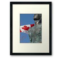 Terry Fox Framed Print