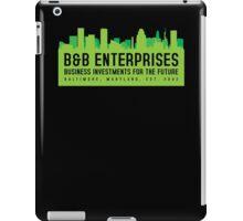 The Wire - B&B Enterprises - Green iPad Case/Skin