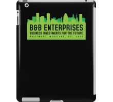 The Wire - B&B Enterprises - Green iPad Case/Skin