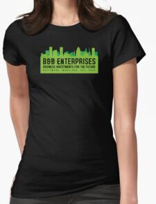 The Wire - B&B Enterprises - Green Womens Fitted T-Shirt