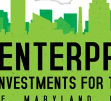 The Wire - B&B Enterprises - Green Sticker