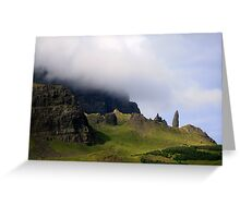 Old Man of  Storr Greeting Card