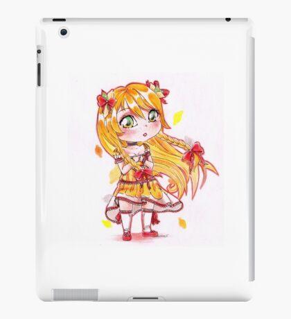 Chibi citrus lady cute girl iPad Case/Skin