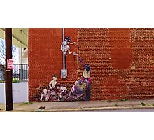 Raleigh Street Art 2 Photographic Print