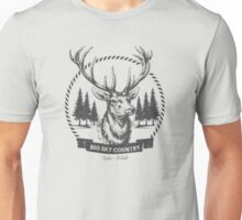 Big Sky Country Deer - Dark print Unisex T-Shirt