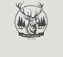 Big Sky Country Deer - Dark print T-Shirt