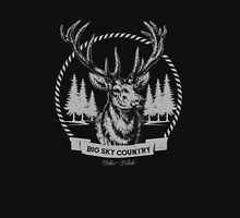 Big Sky Country Deer - Light print Unisex T-Shirt