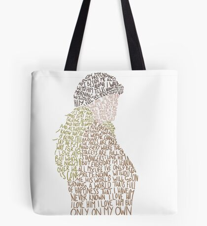 Les Miserables- On My Own Tote Bag